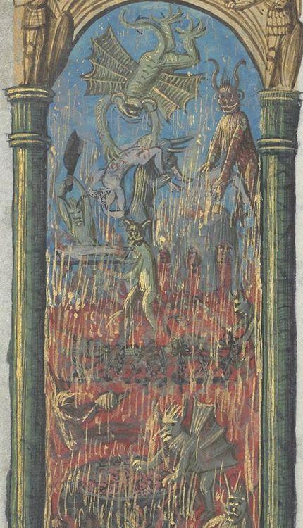 Bibliothèque nationale de France, Département des manuscrits, Latin 920, detail of f. 241v. Book of Hours, use of Rome. 15th century