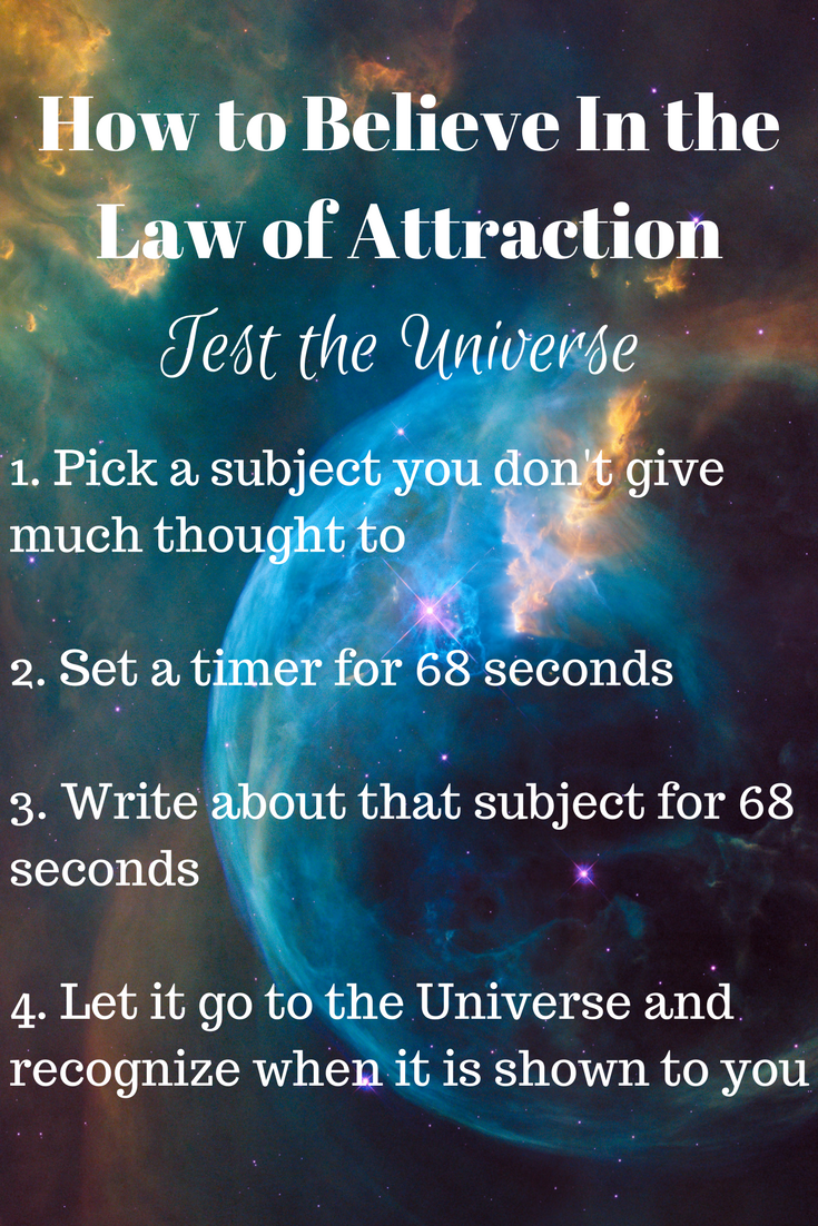 Do you want to believe in the Law of Attraction but have ...