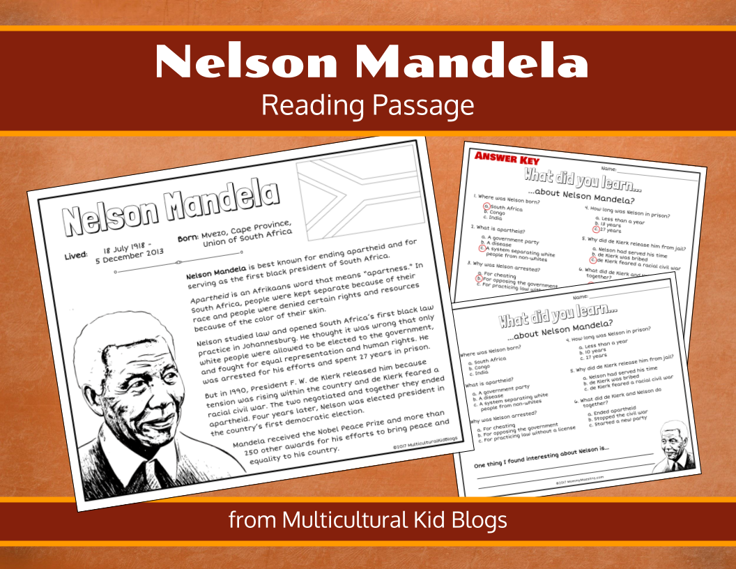 Free Download Learning About Nelson Mandela