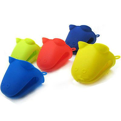 Hippo Silicone Heat-resistant Kitchen Oven Baking Tool Glove Pot Mitt Holder