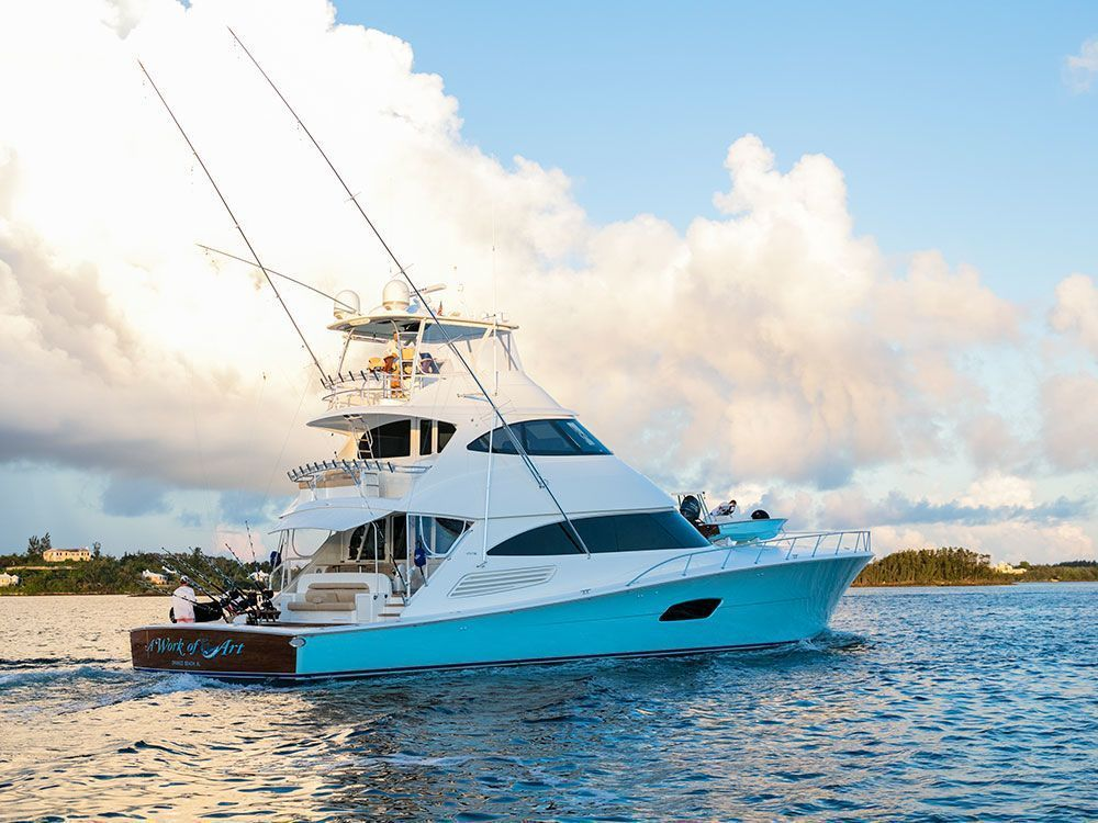work of art boat   Fishing   Sport fishing boats, Boat