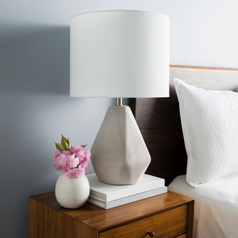 Devereux Concrete Table Lamp Concrete Table Lamp Transitional Table Lamps Lamp