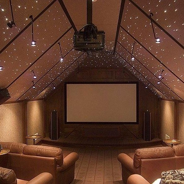 Porch On Instagram This Home Theater By Porchpro Halifax Homes Puts A Converted Attic To P Home Theater Decor Home Theater Installation Home Theater Seating