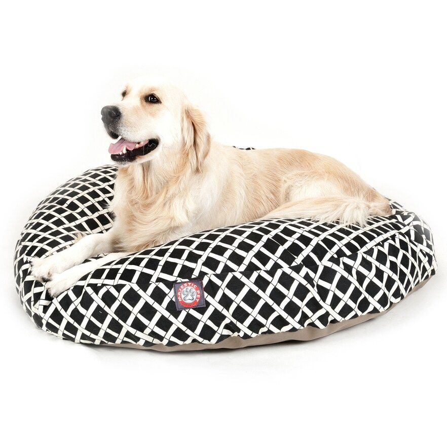 "Majestic Pet Criss-Cross Round Pet Bed - 42"" x 42"""
