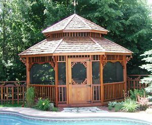 pavillon extérieur avec moustiquaire - Recherche Google   Gazebo ...