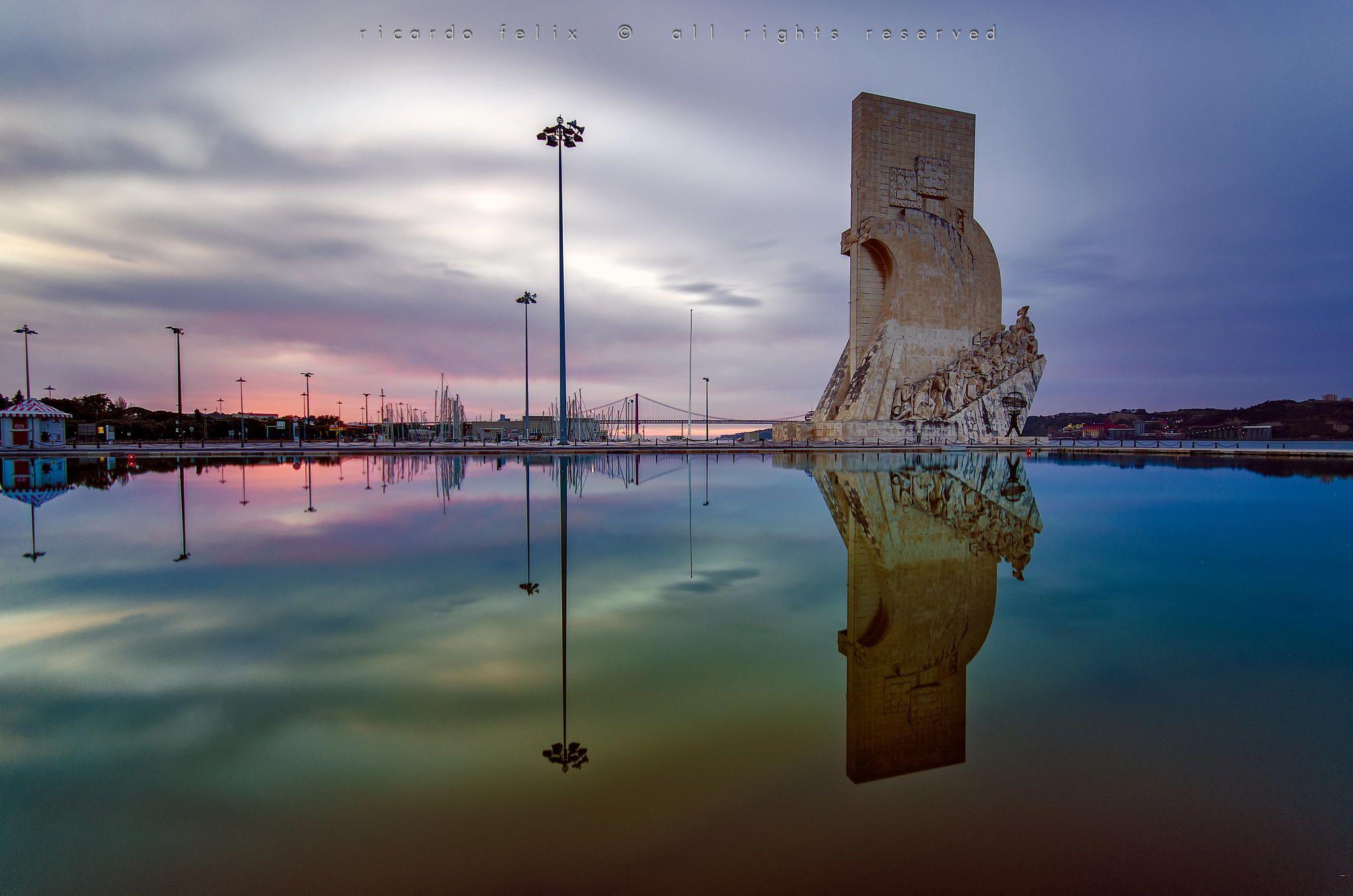 """Fotografia """"Padrão dos Descobrimentos"""" - Lisbon, Portugal de Ricardo Bahuto Felix na 500px"""
