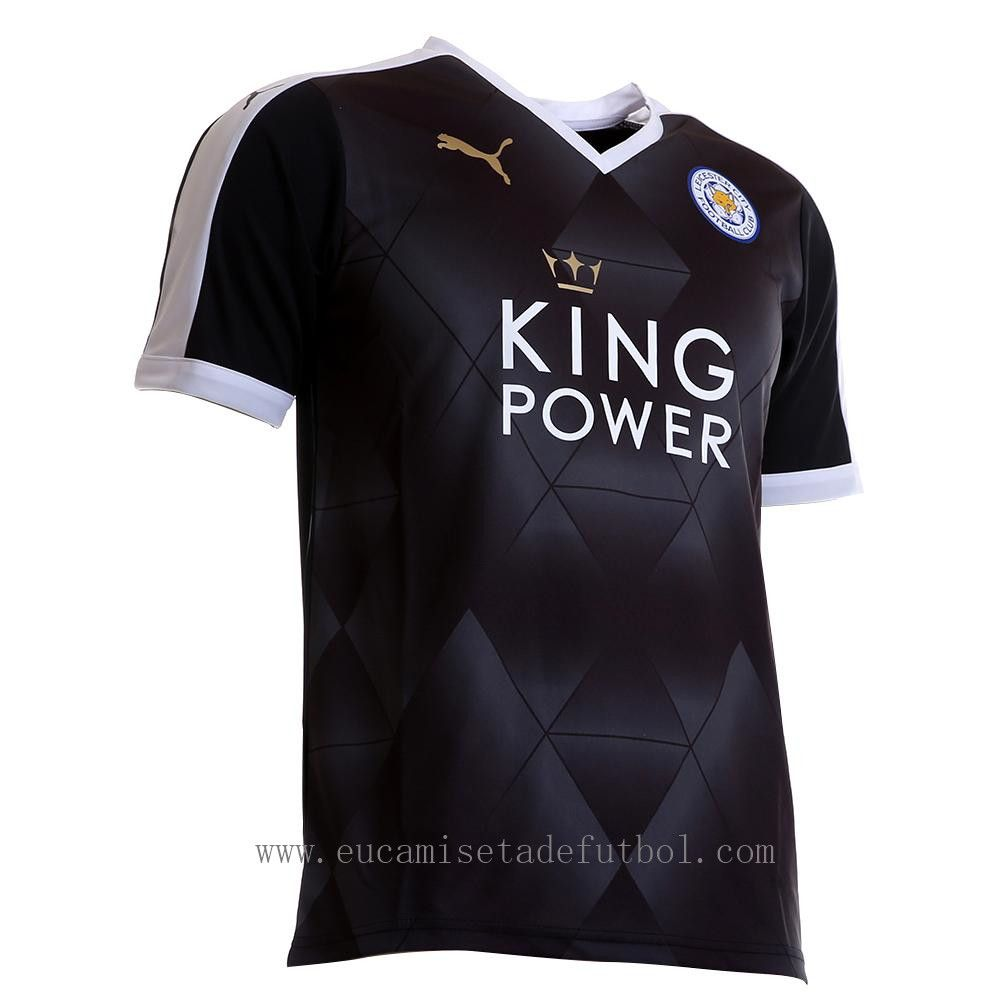 Leicester City Segunda Equipacion Thai Camiseta De Futbol 2016 Esporte Futebol