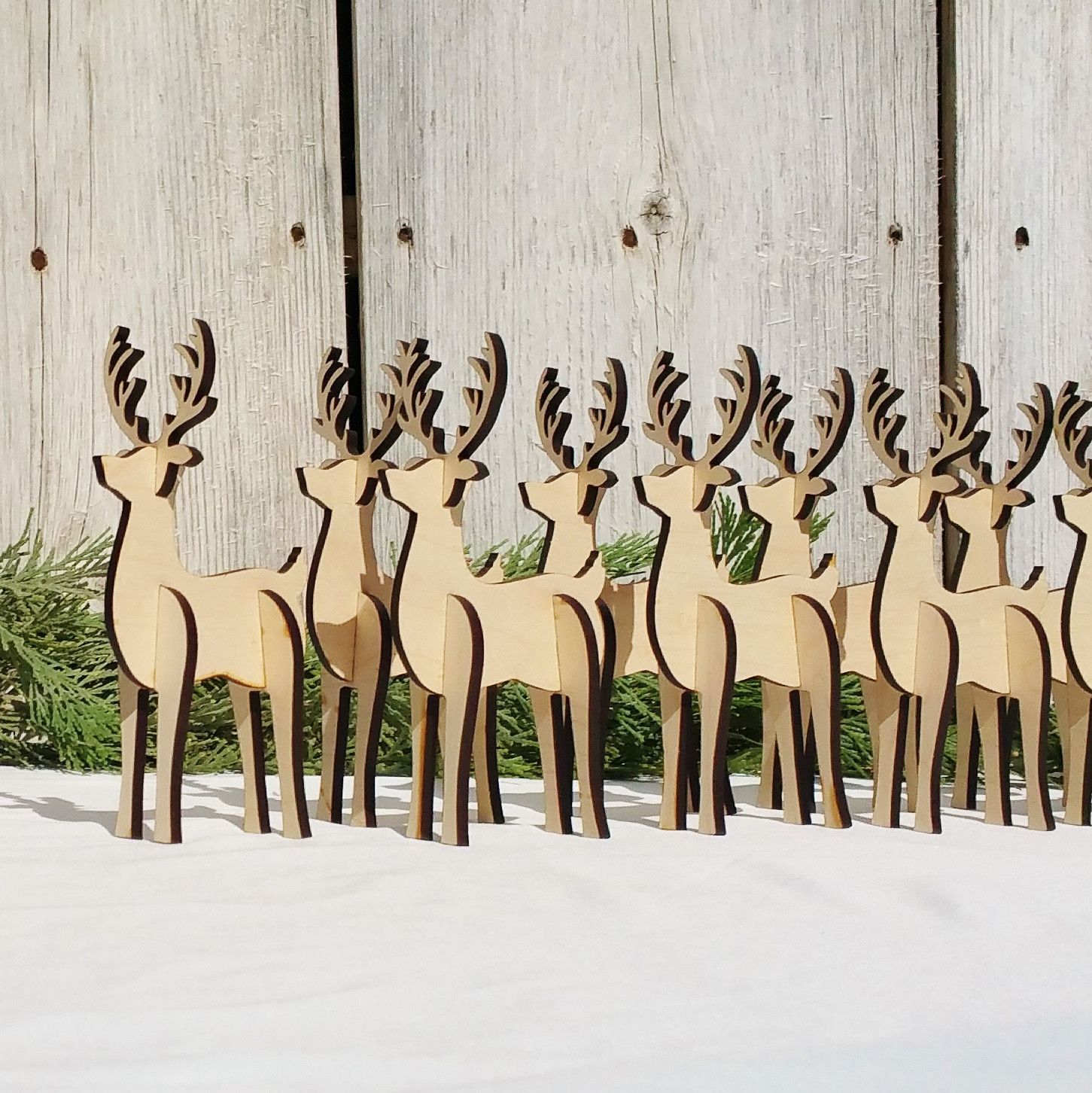 Affordable Home Decor Catalogs: This Small Wooden Reindeer Is Perfect For Your Holiday