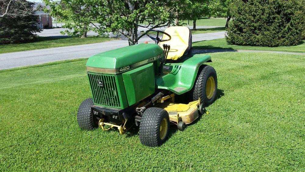 Used Craftsman Lawn Mower Decks Home Amp Garden