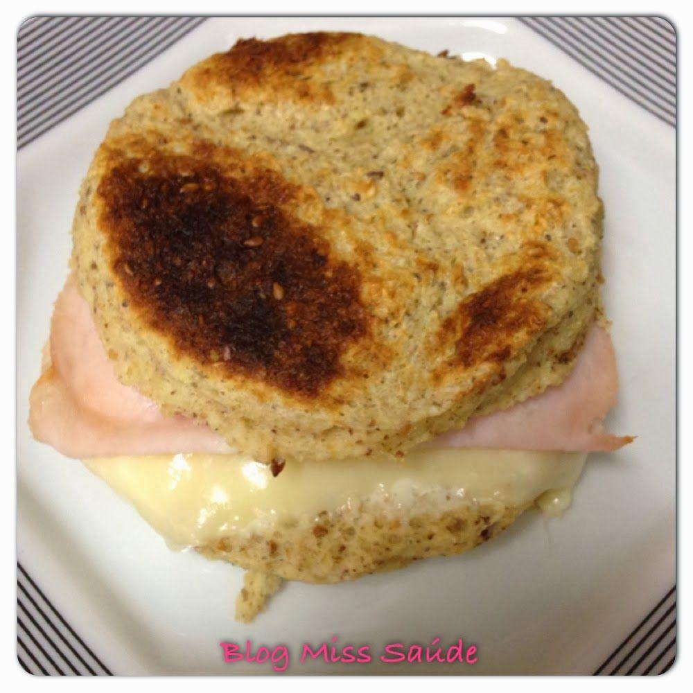 Miss Saúde : Pão de iogurte funcional de microondas Receita completa: http://www.misssaude.com/2014/02/pao-de-iogurte-funcional-de-microondas.html