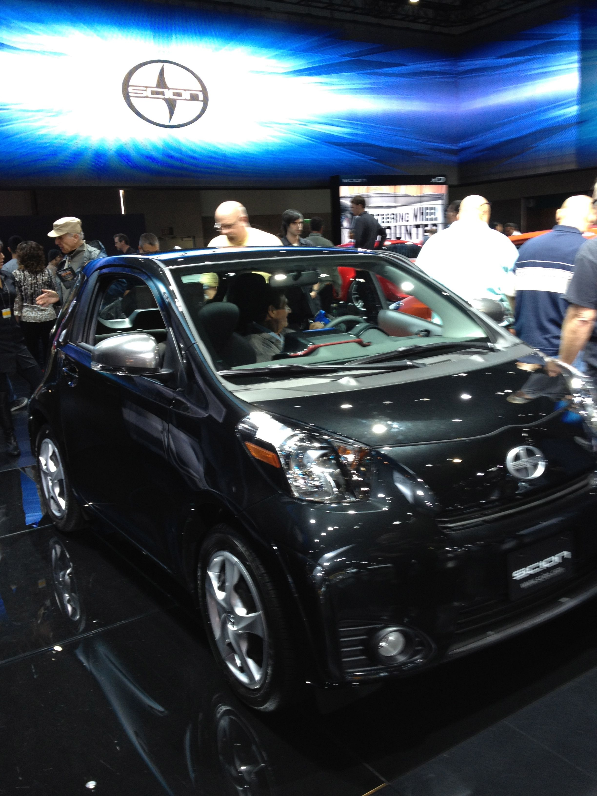 Scion IQ Bmw electric car, La auto show, Love car