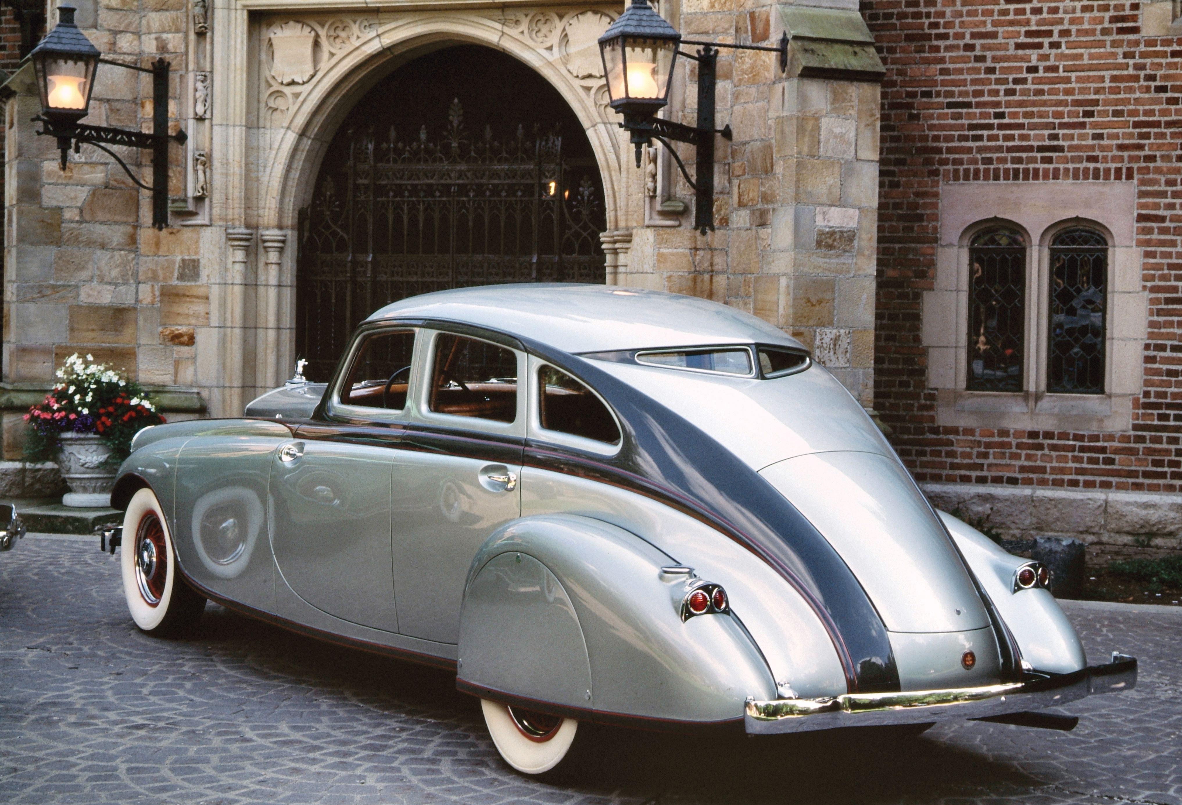 1933 Pierce-Arrow Silver Arrow Rear | Classic Cars | Pinterest ...