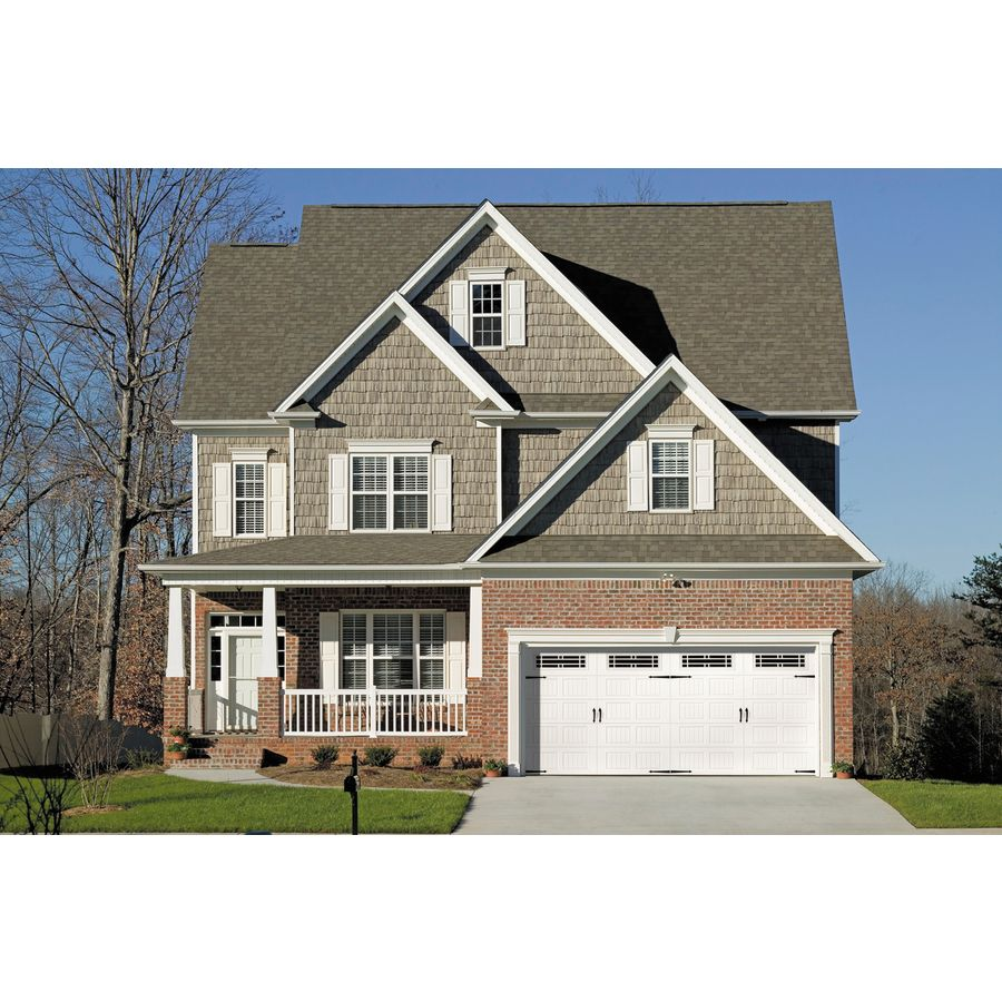 Shop Pella Carriage House Series 192 In X 84 In Insulated White Double Garage  Door Windows At Lowes.com