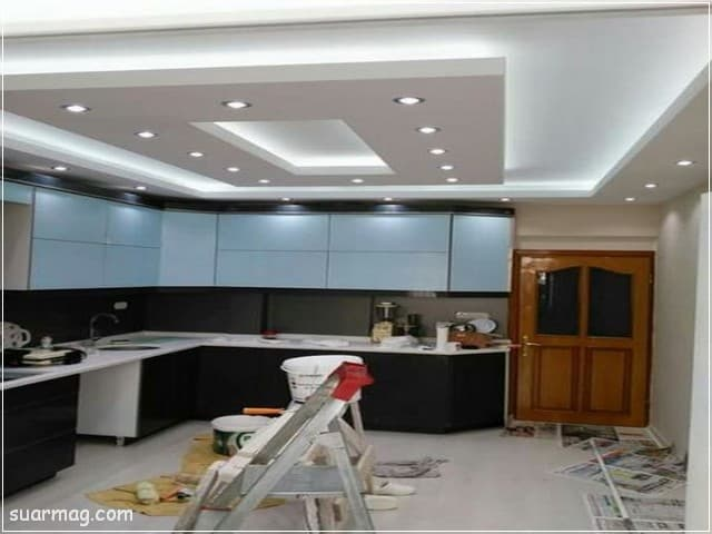 أحدث اشكال جبس بورد مطابخ 2020 روعة Kitchen Ceiling Design House Ceiling Design Pop Ceiling Design