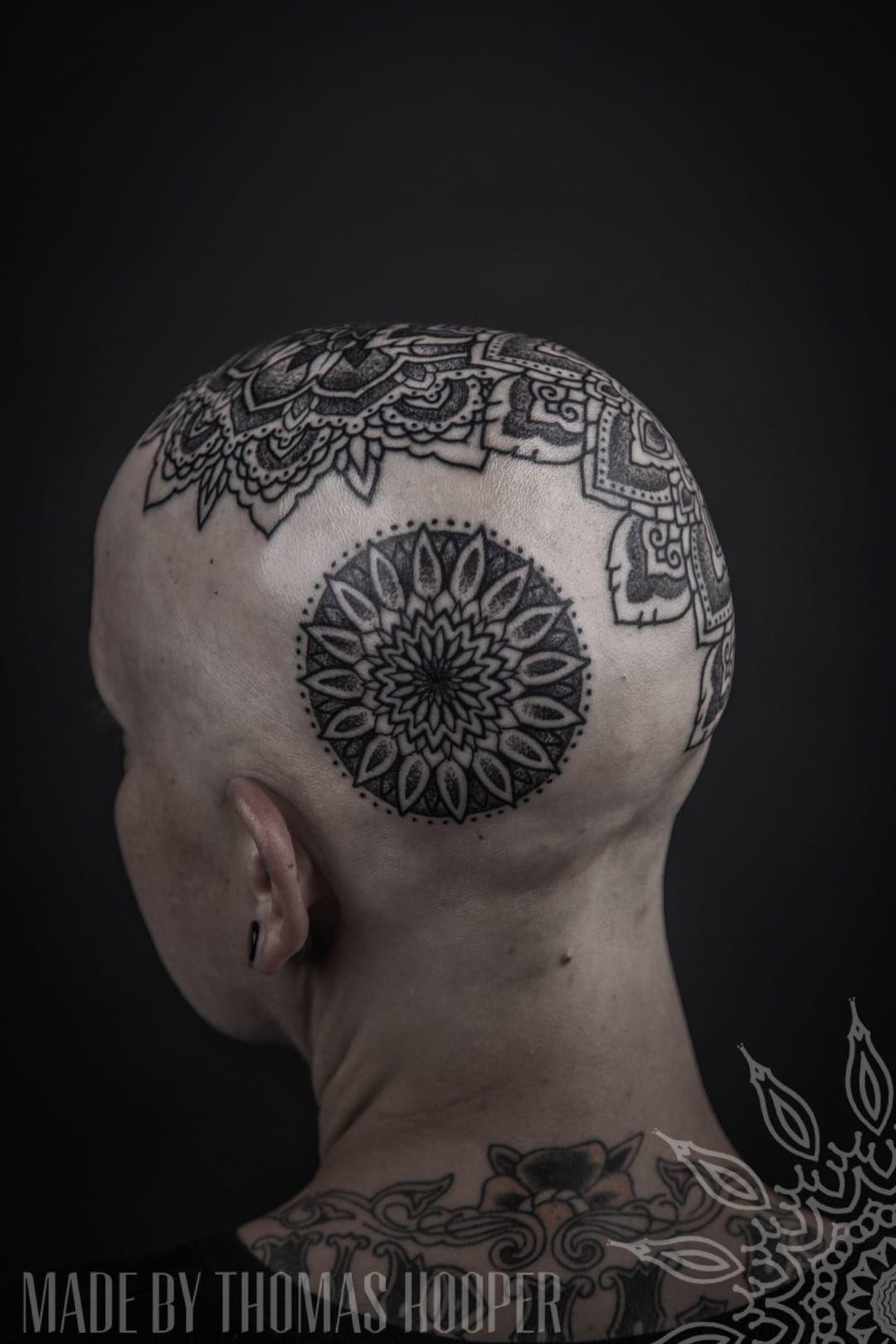 Thomas Hooper is a master of geometrical dotwork.