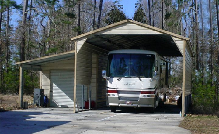 Eversafe Offers Heavy Duty Steel RV Shelters And Metal Storage Buildings At Factory Prices Protect Your Motor Home With An Carport 20 Year Warranty