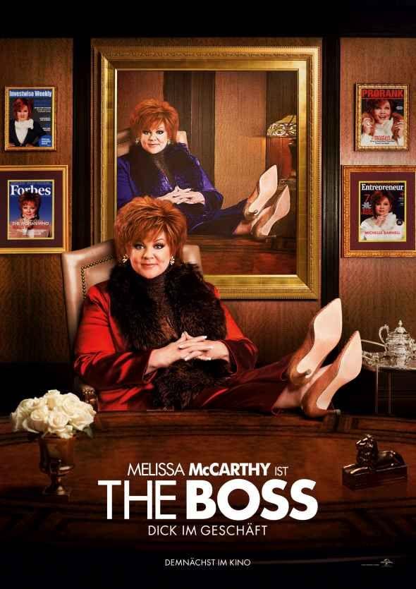 The Boss , Melissa McCarthy ⭐⭐⭐⭐