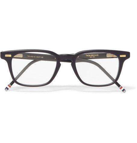 55f626367e9 Thom Browne Square-Frame Acetate Optical Glasses