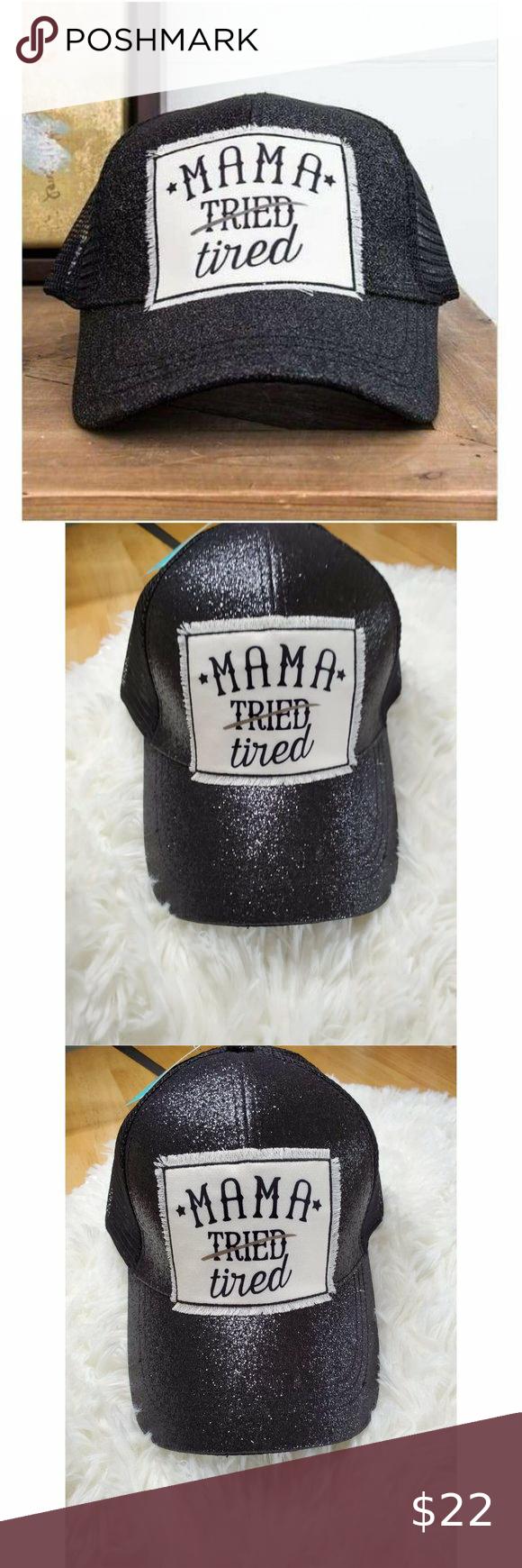 Tired Mama Hat