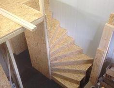 Treppe Selbst Bauen | Stiegenaufgang Selbst Gebaut Stufen Treppenbau Wendeltreppe
