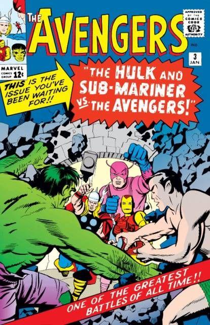 The Avengers (Volume) - Comic Vine #3