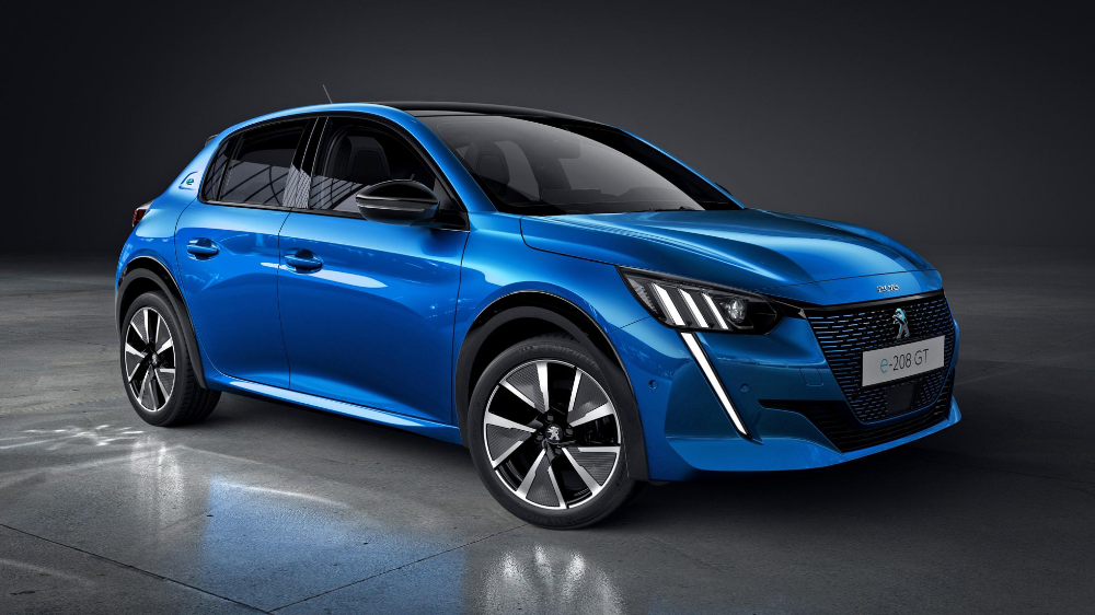 The quickest version of Peugeot's new 208 is electric