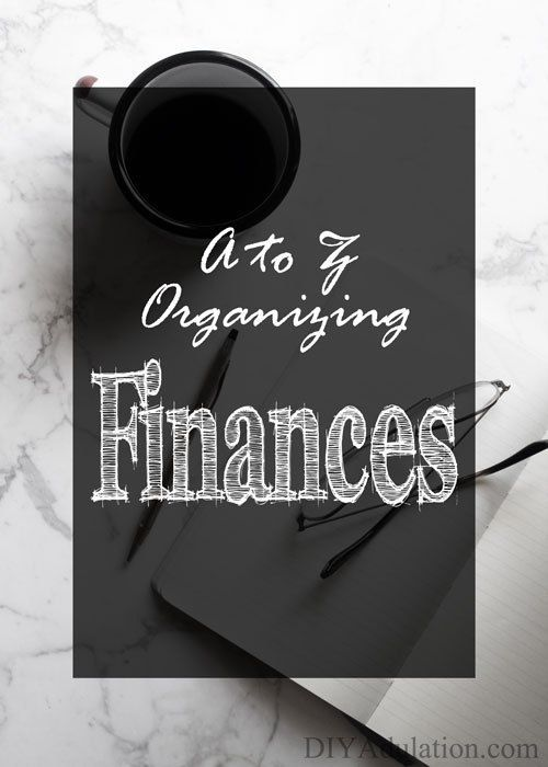 Tips for Organizing Finances money Pinterest Monthly budget