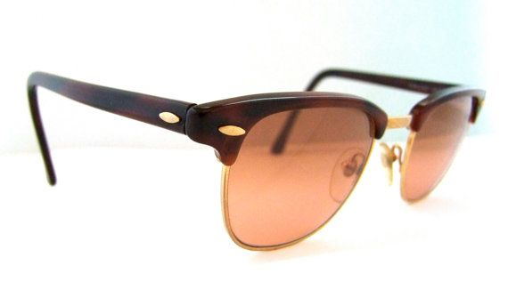bbdf709e4f Vintage Serengeti Drivers 6277f Sunglasses Clubmaster style Mint ...