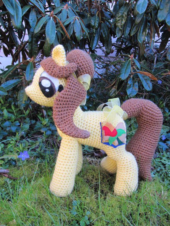 Belle Pattern My Little Pony By Nerdyknitterdesigns On Etsy
