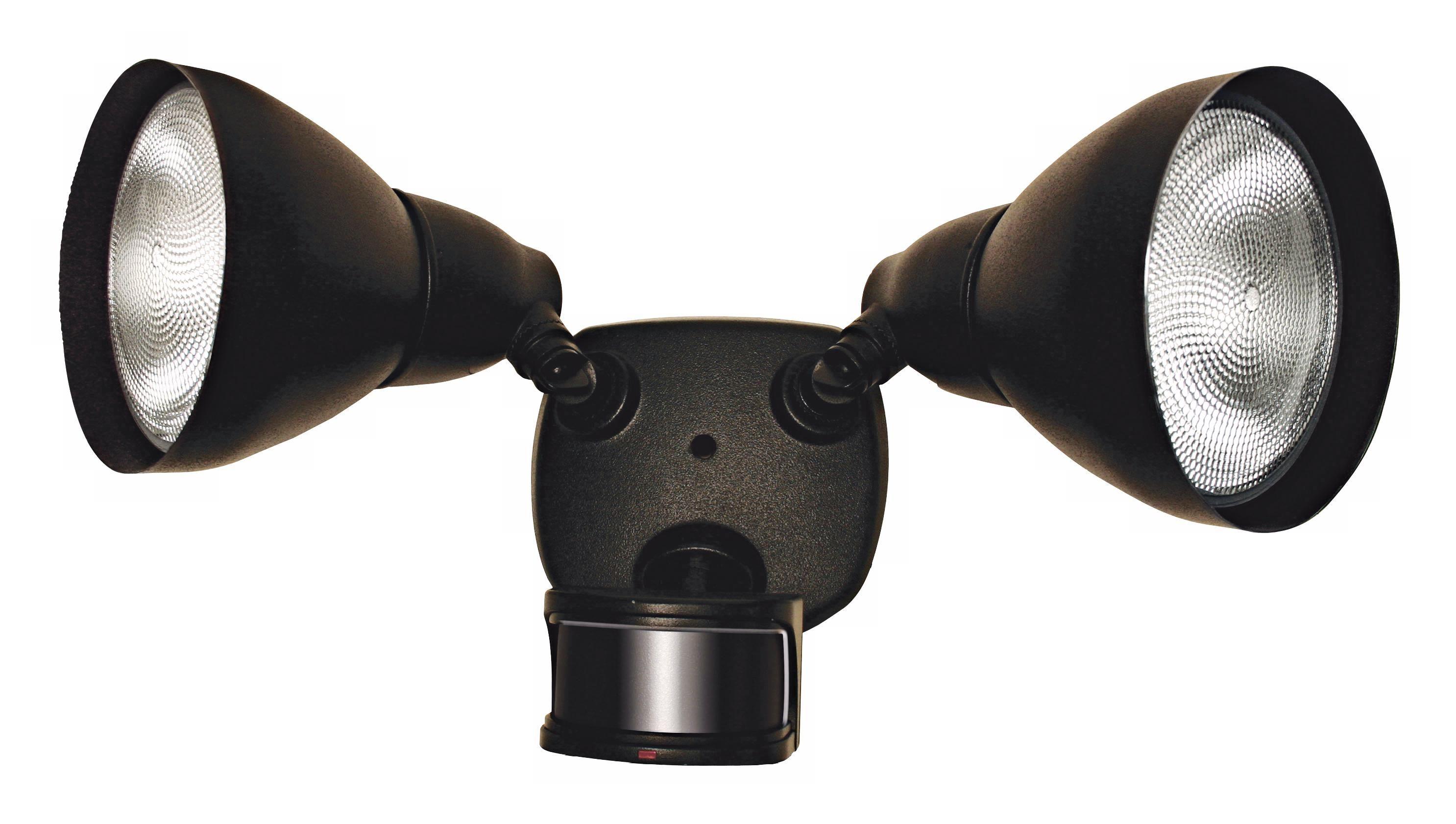 Dusk To Dawn Motion Sensor Black 17 Wide Security Light K6512 Lamps Plus Motion Sensor Lights Security Lights Outdoor Flood Lights