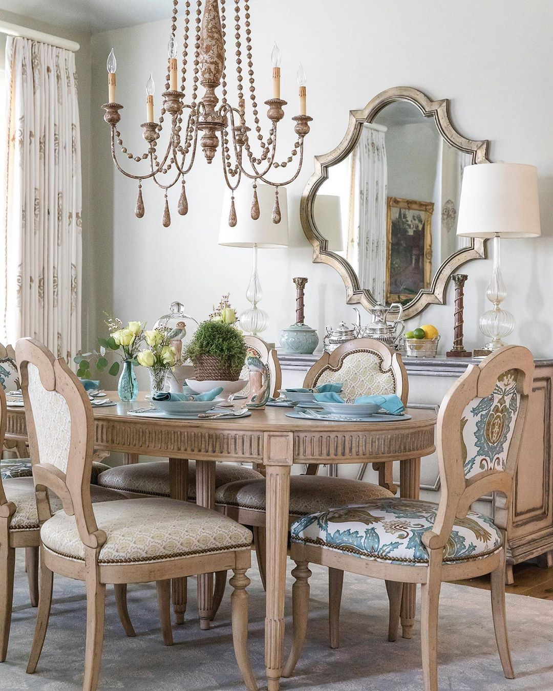 "32 More Stunning Scandinavian Dining Rooms: EricRossInteriors On Instagram: ""A Traditional Dining Room"
