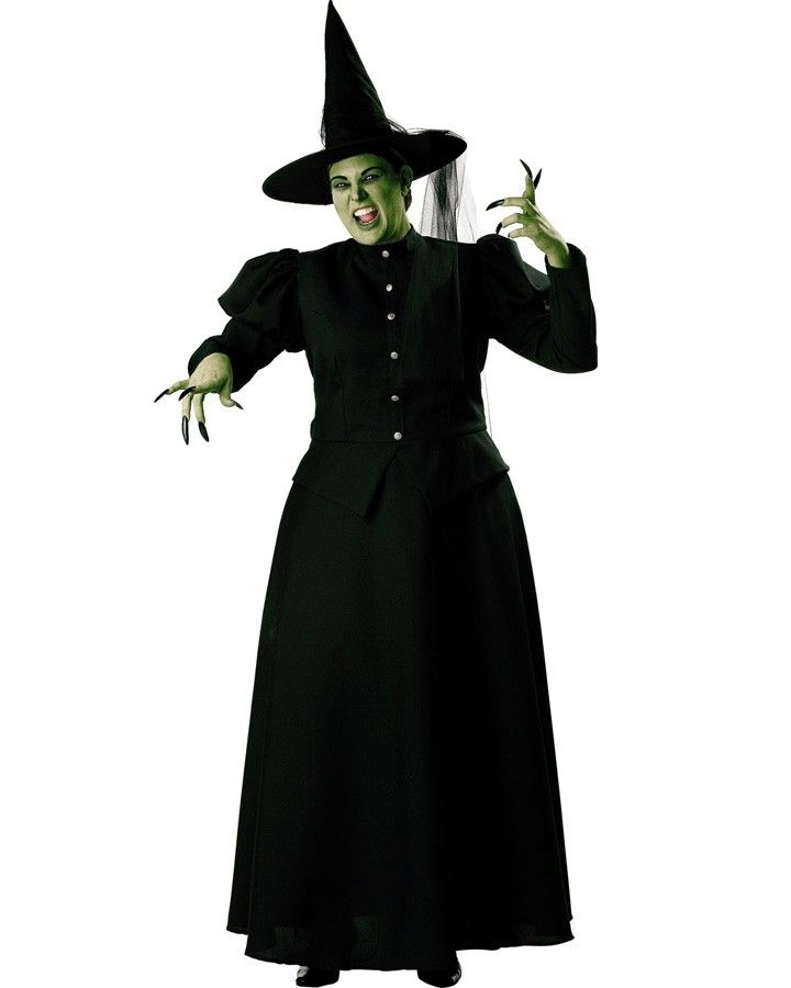 d10152d425 Wicked Witch Womens Plus Size Costume #Halloween2013 #plussize ...