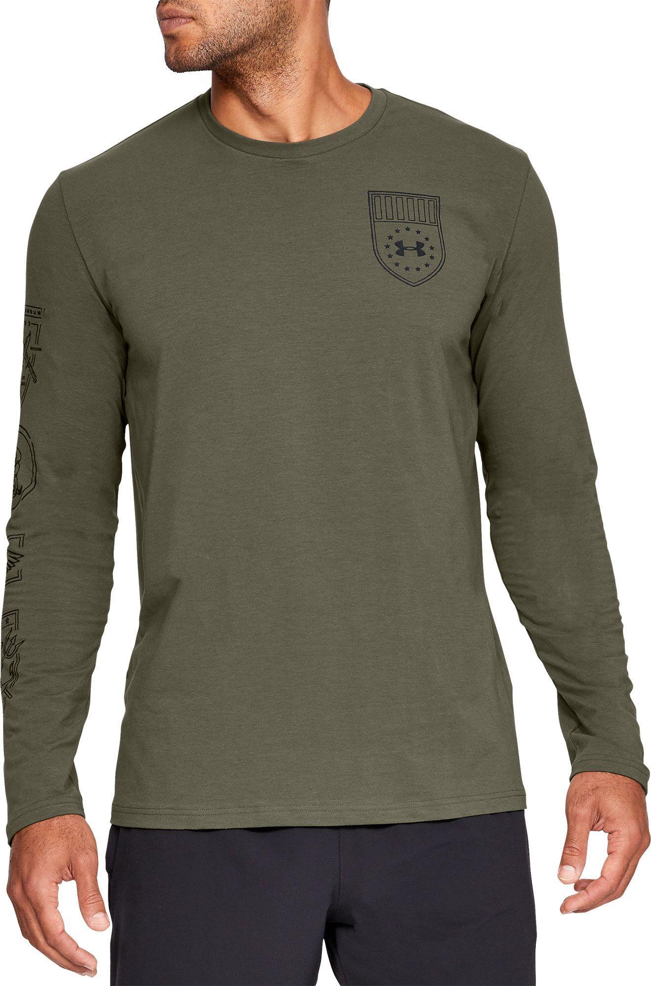 e63af9a132 Under Armour Men's Tactical Graphic Long Sleeve T-Shirt, Size: XXL ...