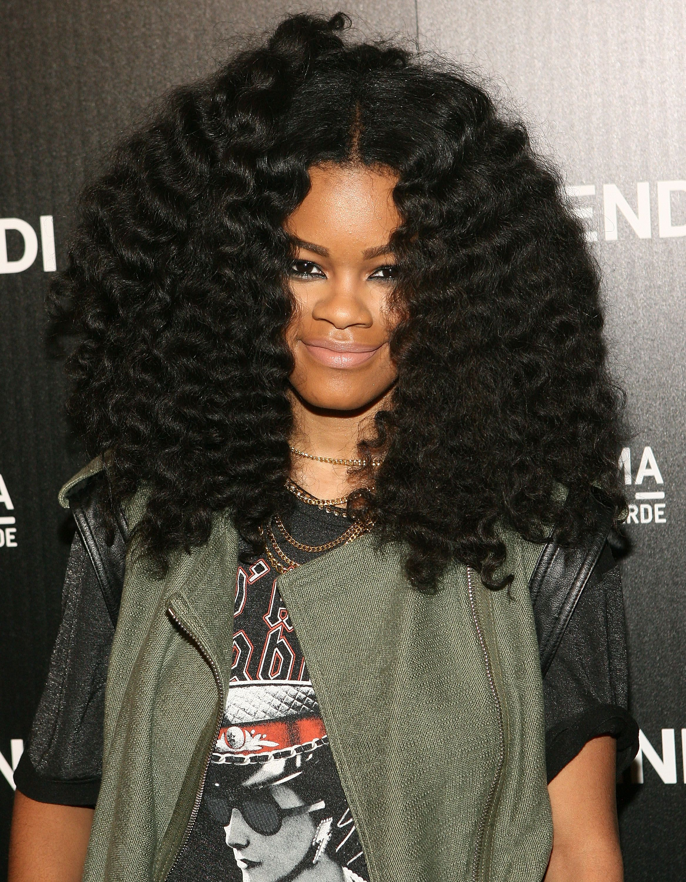Image result for celebrity twist out Hair Pinterest