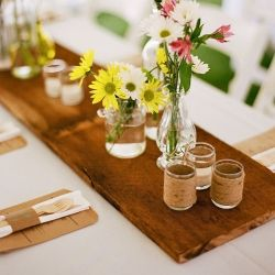 Shop Wooden Table Centerpieces on Wanelo