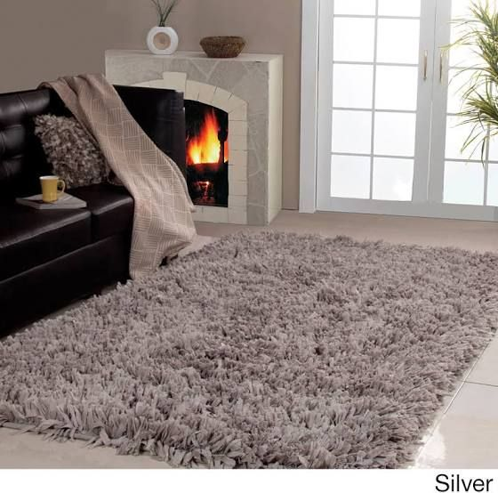 big fluffy rug | Living Space in 2019 | Rugs in living room ...