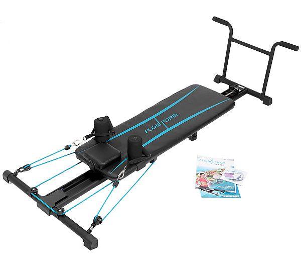 Qvc Sportgeräte flow form pilates trainingsmaschine für zuhause inkl. trainings dvd