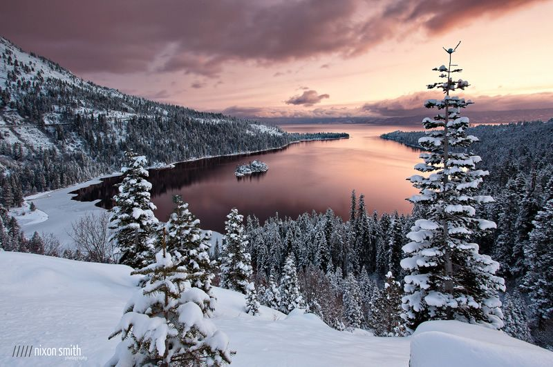 Las Mejores Fotografías del Mundo: Paisajes nevados son sin duda grandes temas de fotografía