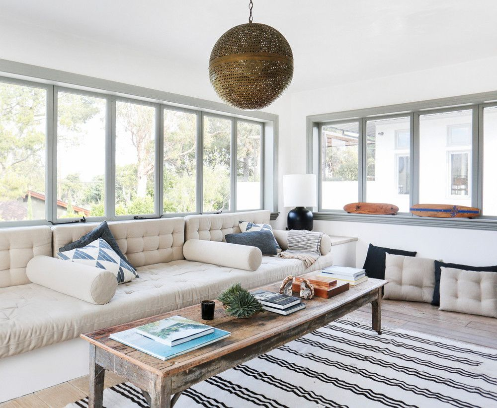 A Malibu Home Gets A Tuscaninspired Makeover  Living Rooms Fascinating Light Colored Living Rooms Review