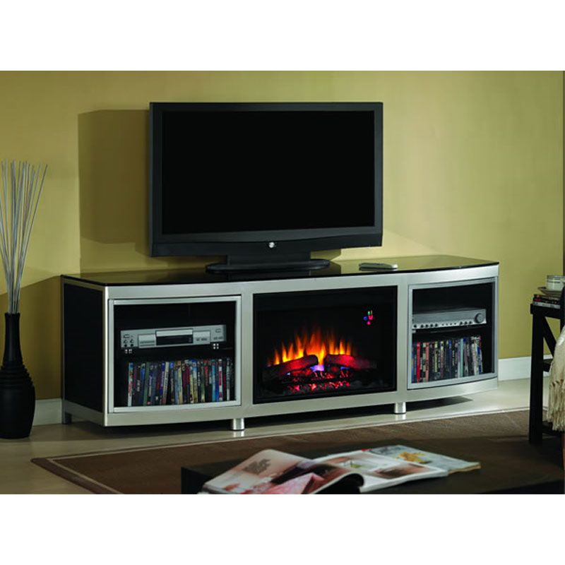 electric fireplace tv stand | handmade cards | Pinterest ...