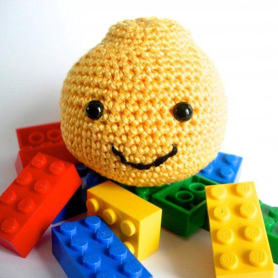 Amigurumi Lego head, free crochet pattern. | Crochet Baby Toys ...