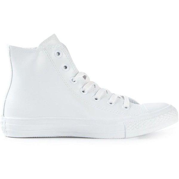 converse rubber blanche