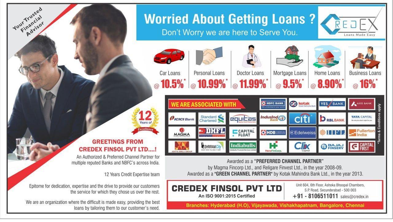 Credex Finsol Pvt Ltd Personal Loans Instant Loans Loan