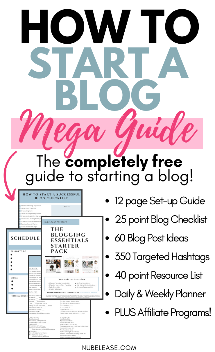 How To Start Blogging For Beginners Free Blogging Ebook How To Start A Blog Blog Checklist Blog Tips