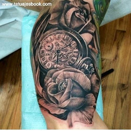 Tatuajes de relojes 500 500 tattoost types for Reloj para tatuar