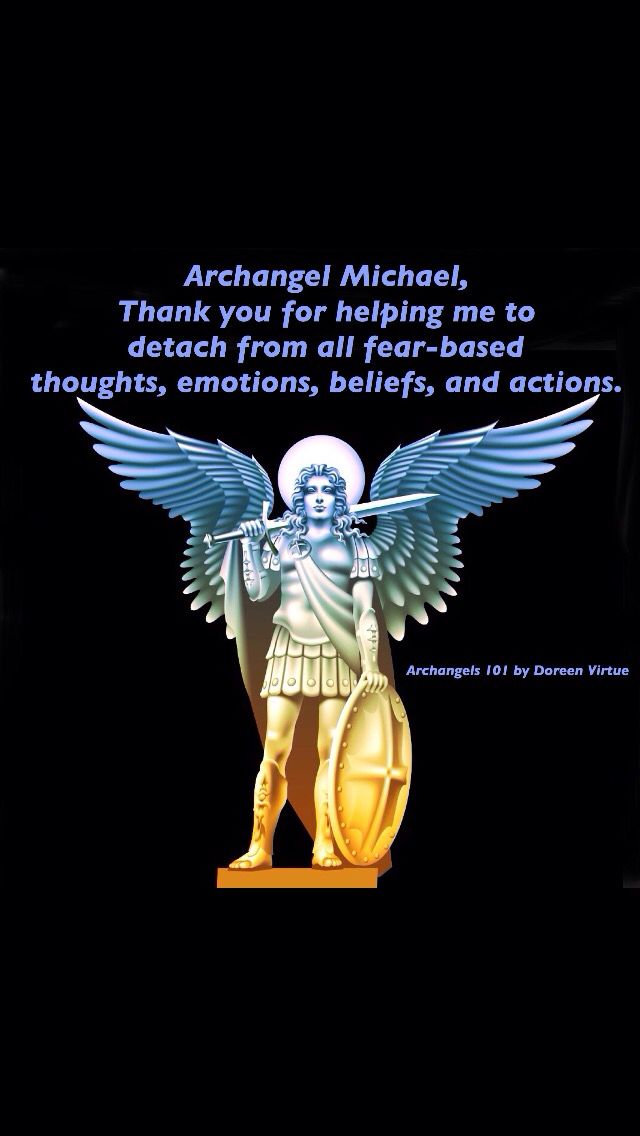 archangel michael prayer - 640×1136