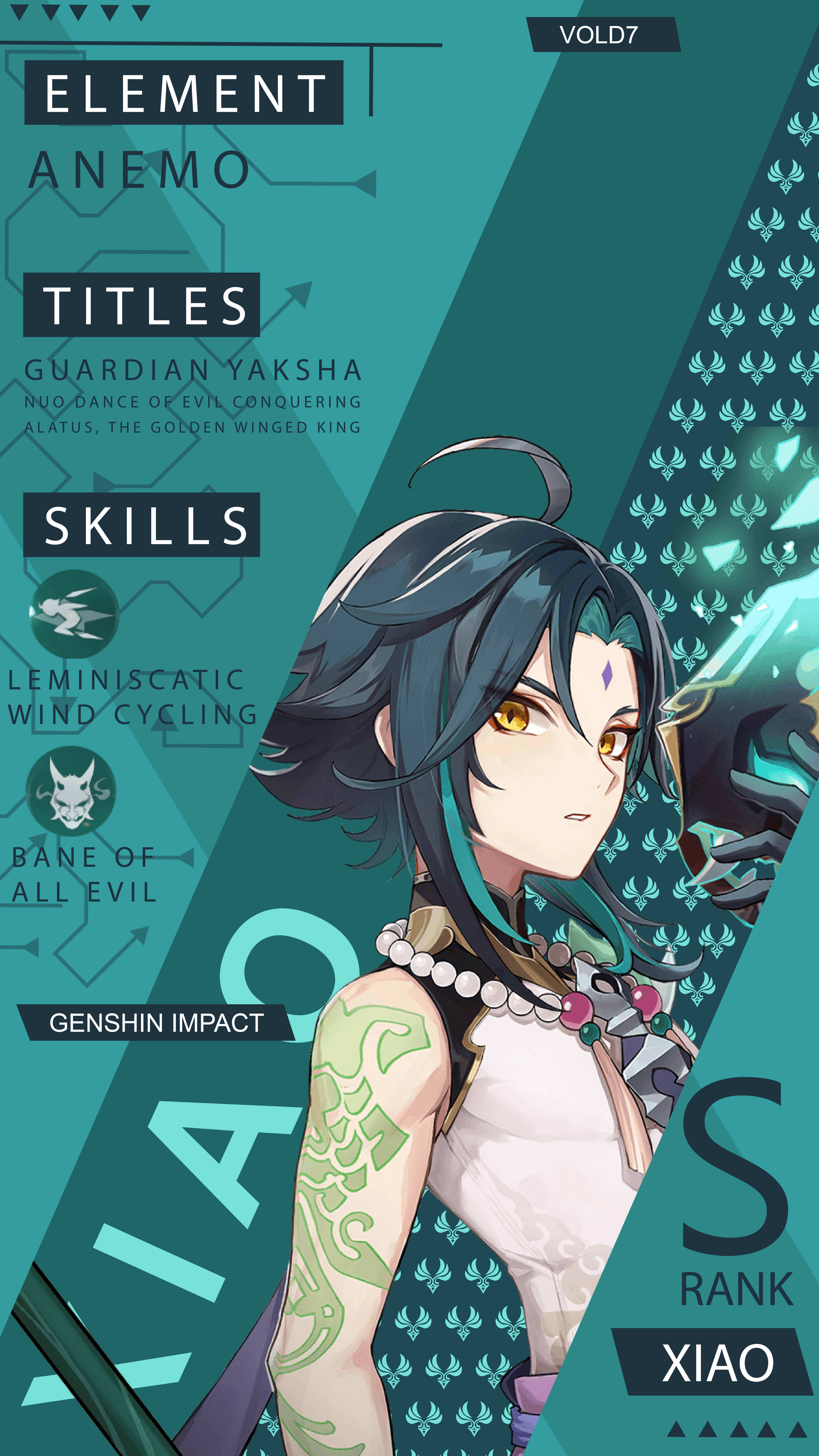 Genshin Impact Xiao Wallpaper Android Anime Wallpaper Impact Anime Art Girl