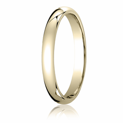 3MM Classic Domed 10K Gold Comfort Fit Wedding Band Men's or Women's. Price starts at $164.99. Price increase for sizes 8+. Find out more at Ring-Ninja.com!   #goldrings #ringninja #yellowgold #realgold #affordablerings #goldrings #comfortrings #domedring