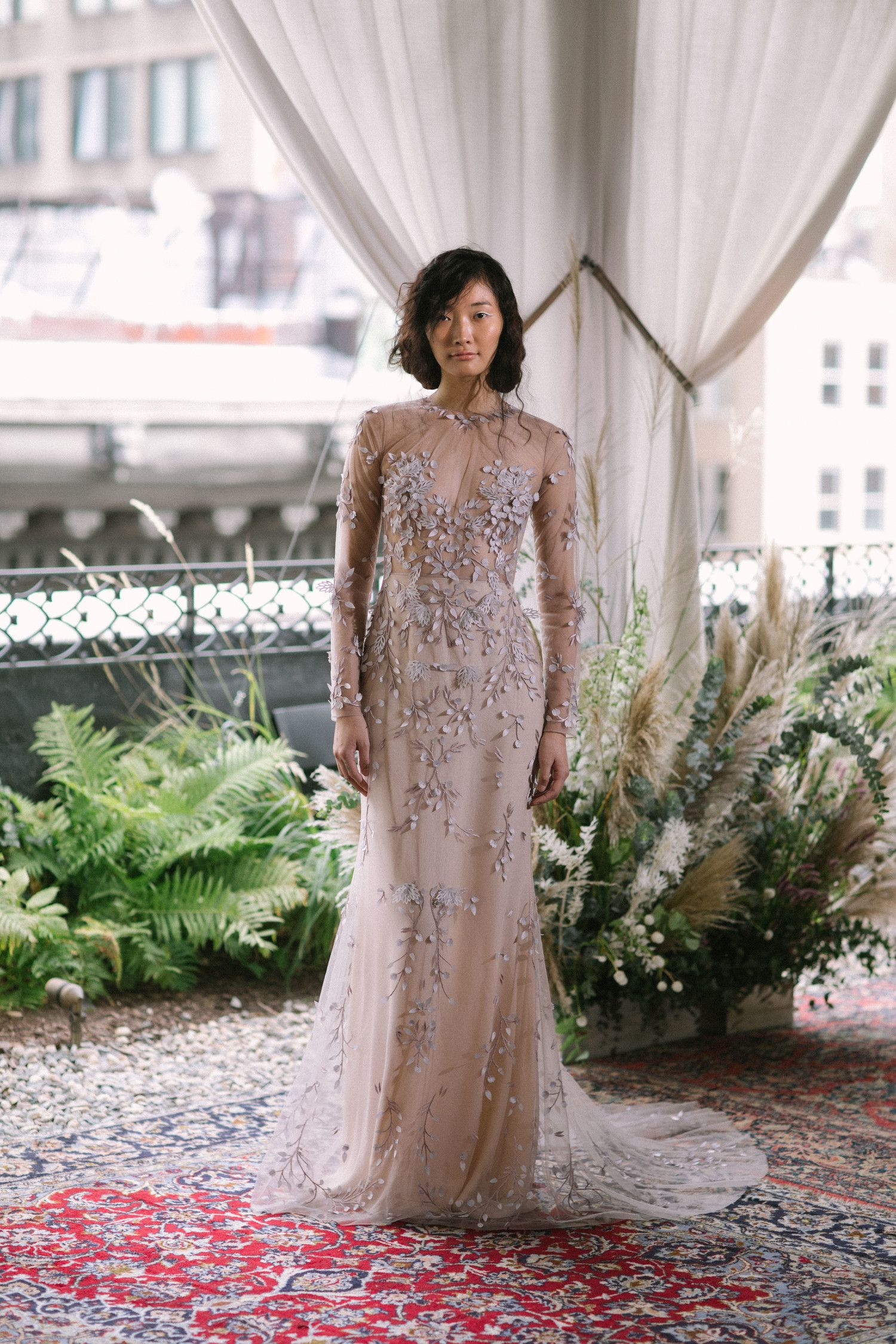 Ultraromantic floral wedding dresses modest and modern wedding
