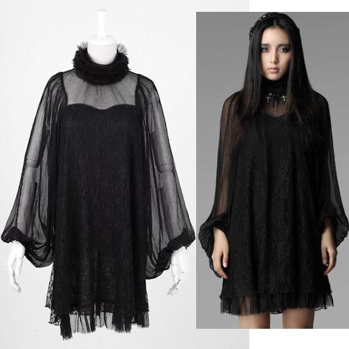 Gothic Chiffon Dress